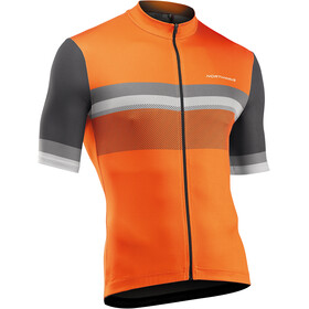 Northwave Origin Short Sleeve Jersey Men, naranja/gris
